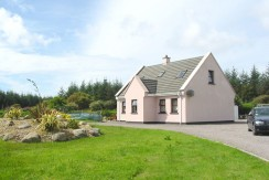 4 bedroomed single storey house Aughatubrid.