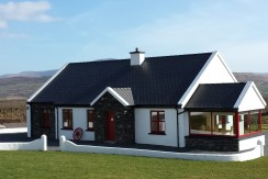 4 bedroomed newly  built house very tastefully finished at Tullig Waterville.