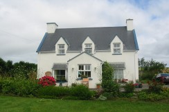 Traditional two storey style farmhouse at Dungeagan, Ballinskelligs