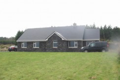 Newly built house at Raheen, Fermoyle, Ballinskelligs