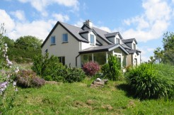 Architectural designed house on 1.6 acres at Brackaharagh Caherdaniel